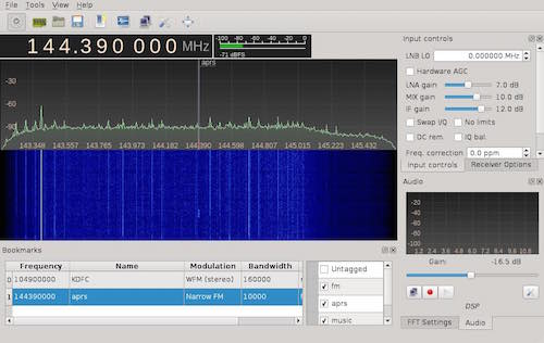 Airspy on Linux · Fabrice Aneche